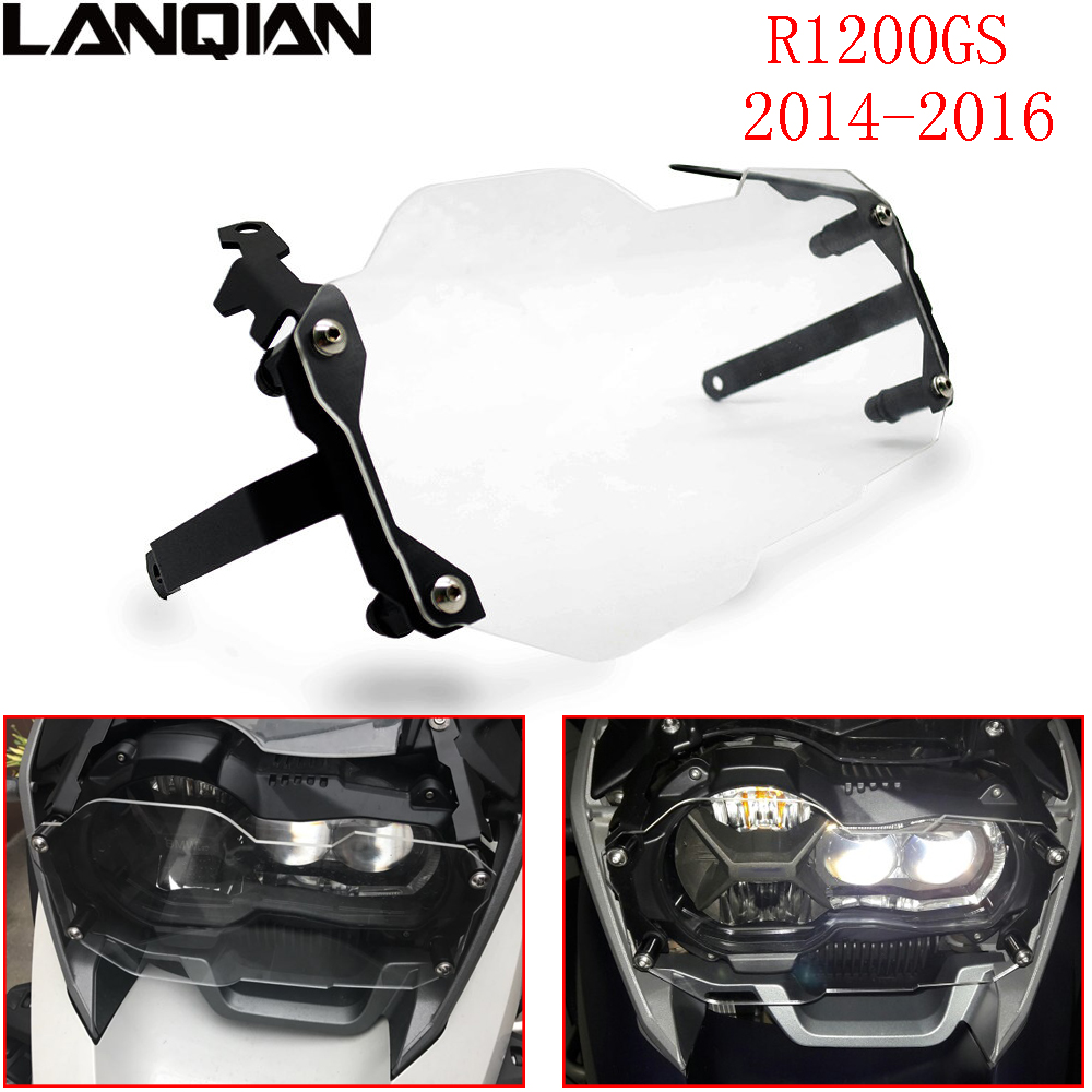 For BMW R1200GS Headlight Protector Guard Lense Cover For BMW R 1200 GS Adventure 2013 2018