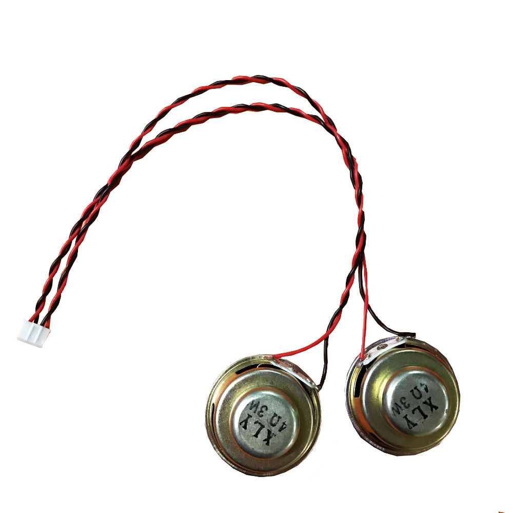 1pair 4Ohm 3W Internal Magnetic Audio Stereo Speaker 40mm Loudspeakers with cable