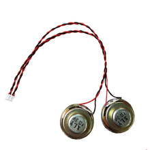 лучшая цена 1pair 4Ohm 3W Internal Magnetic Audio Stereo Speaker 40mm Loudspeakers with cable