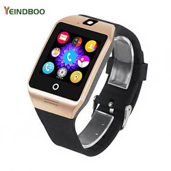 YEINDBOO Smart Watch Clock With Sim Card Slot Push Message Bluetooth Connectivity Android Phone Smartwatch Men Watch