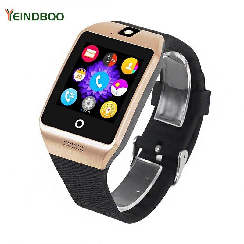 YEINDBOO reloj inteligente reloj con ranura para tarjeta Sim empuja mensaje conectividad Bluetooth teléfono Android reloj inteligente reloj de los hombres