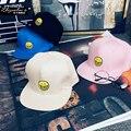 South Korea ulzzang Harajuku hat soft sister embroidery Baseball Cap Hat Visor tide flat face and hip hop
