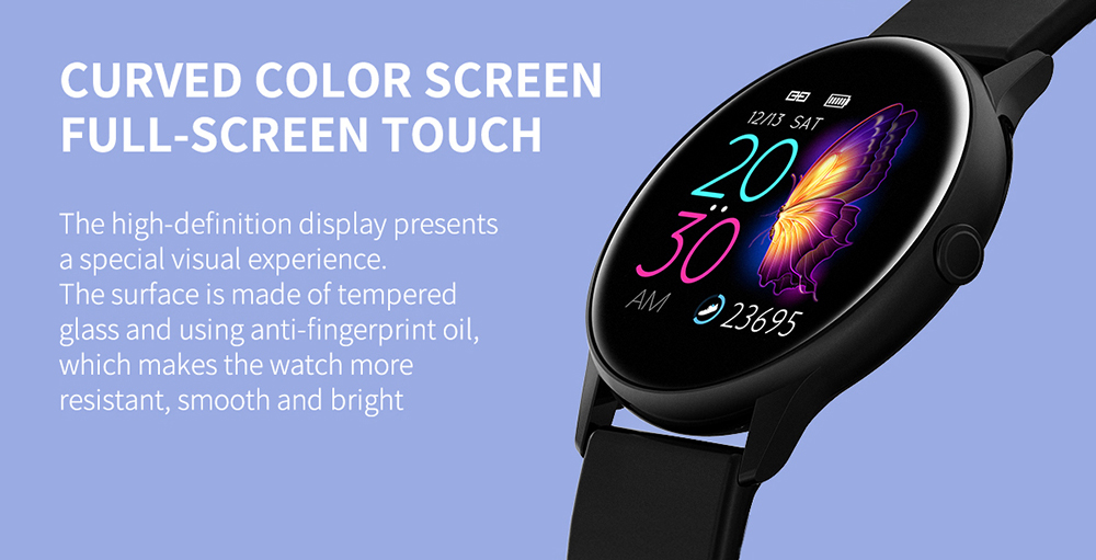 Women IP68 Waterproof Smart Watch for iPhone xiaomi LG with Bluetooth and Heart Rate Monitor Fitness Tracker 10