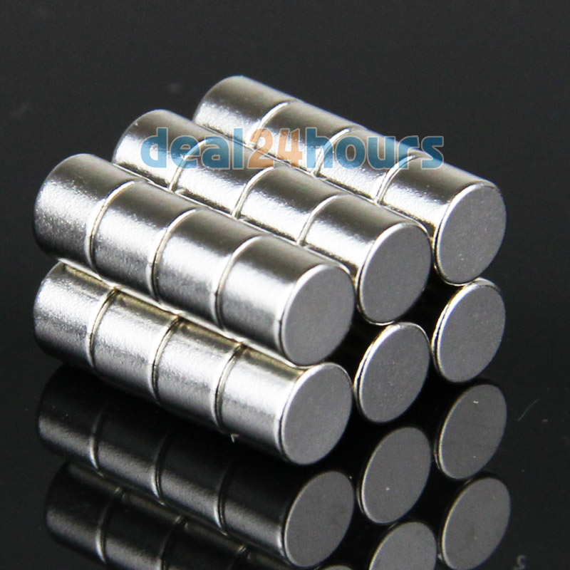 2x Strong 25mm Diameter x 20mm Thickness Rare Earth Neodymium Big Round  Magnets