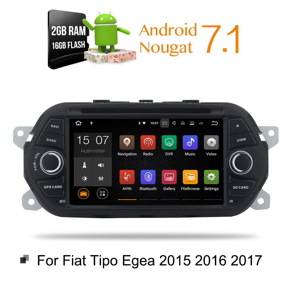android 7 1 hd 1024x600 android car stereo for fiat tipo. Black Bedroom Furniture Sets. Home Design Ideas