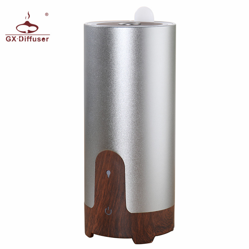 Newest Aromatherapy ultrasonic Air Humidifier Car USB essential oil  Aroma Diffuser Aluminium Alloy air purifier
