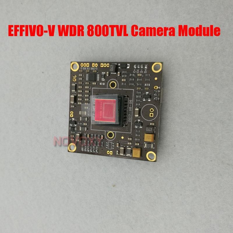 DIY 800TVL Sony 663 WDR CCD Effio V DSP Analog CCTV PCB Board Camera Module OSD