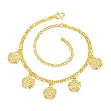 Wholesale New Fashion Women Fine Jewelry Woman Zircon Anklets Bracelet Female Foot Chain YMW-ZD091