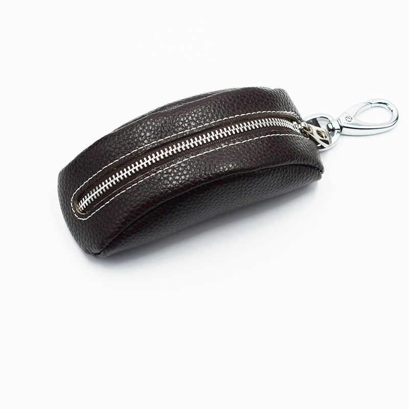 2019 carteras para llaves de cuero genuino para mujeres de alta calidad ama de llaves de marca de lujo funda para llaves nuevas llegadas