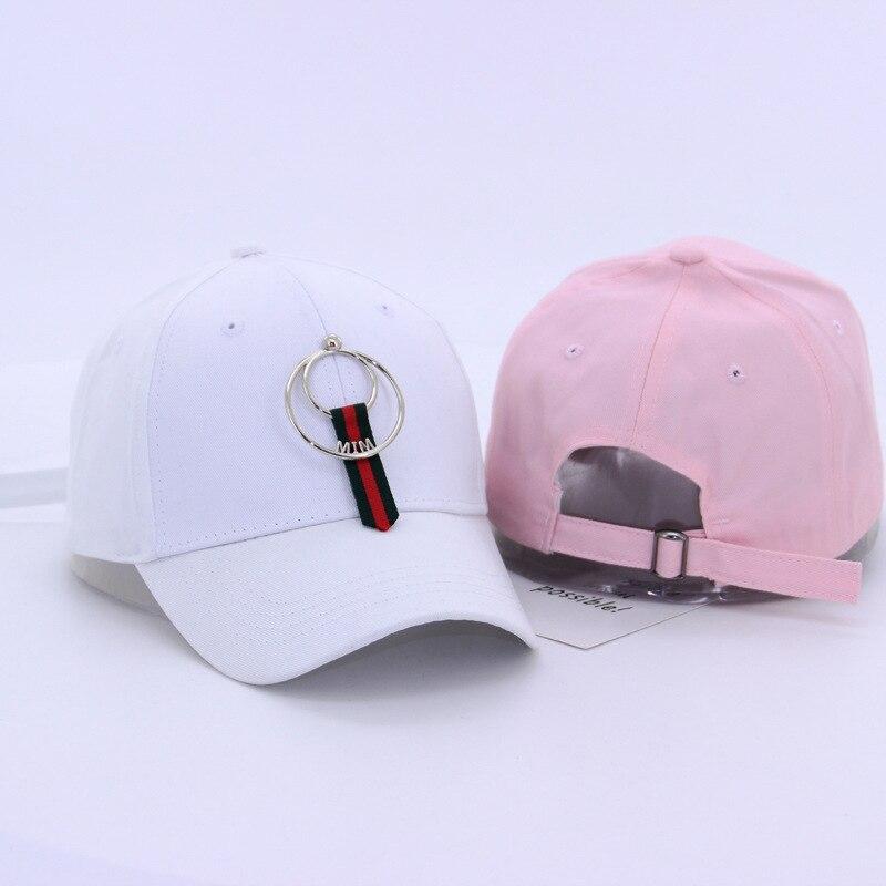 22 styles korean   cap   winter autumn spring black   baseball     cap   snapback   caps   for women men hip-hop hat white pink solid color
