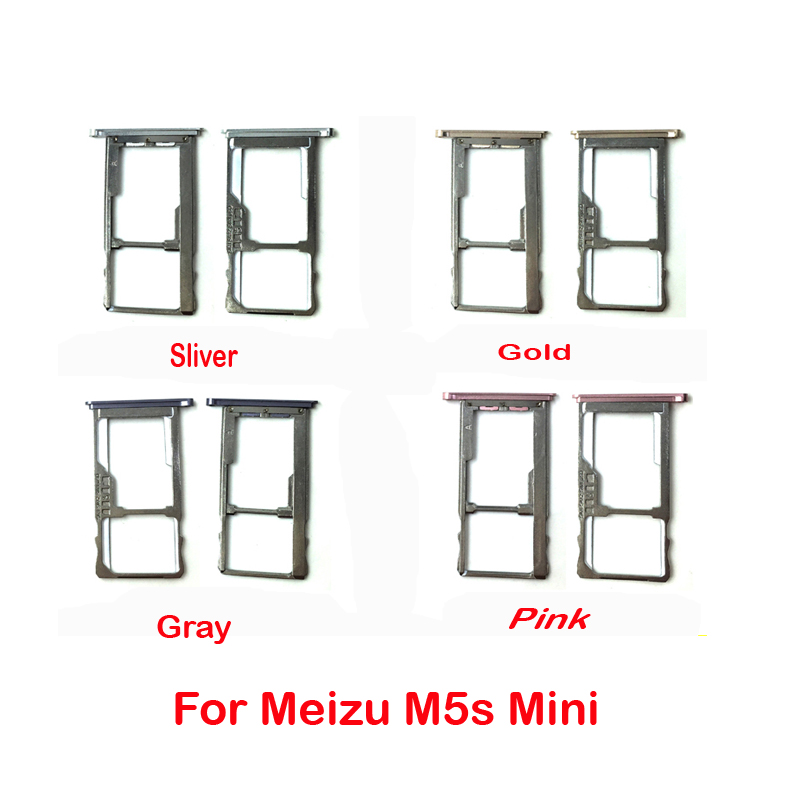 for meizu m5s m3 m5 note nano sim card sim tray  micro sd card holder adapter