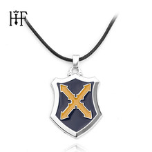 Fate/Grand Order Apocrypha Sabel Mordred Cosplay Knight Cross Ketting Hanger Touw Ketting Collier Femme Joyas cross ketting(China)