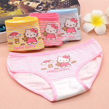 hot deal buy 12pcs/set cotton briefs cartoon mickey lovely girls lace underwear princess kids children baby cozy soft panties high quality