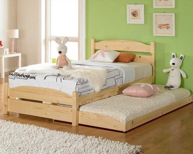 Letti A Castello Per Bambini Economici : Letti a castello cornici in legno massello loft moderno economici