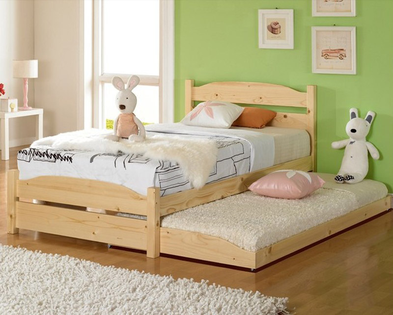 Online get cheap pine bed furniture for Cheap kids bed frames