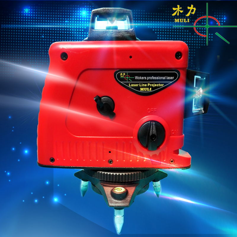 2018 Professional New 12 Lines 3D Laser Level Self Leveling 360 Horizontal And Vertical Cross Super