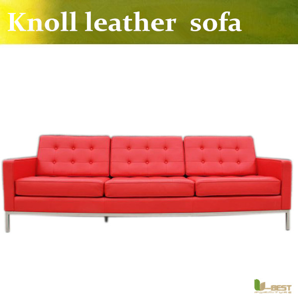 U-BEST FLORENCE KNOLL STYLE SOFA IN LEATHER MULTIPLE COLORS/MATERIALS ,Famous knoll style seat sofa u best design corner sofa inspired by florence knoll left angle imitation leather or real leather modern living room sofa