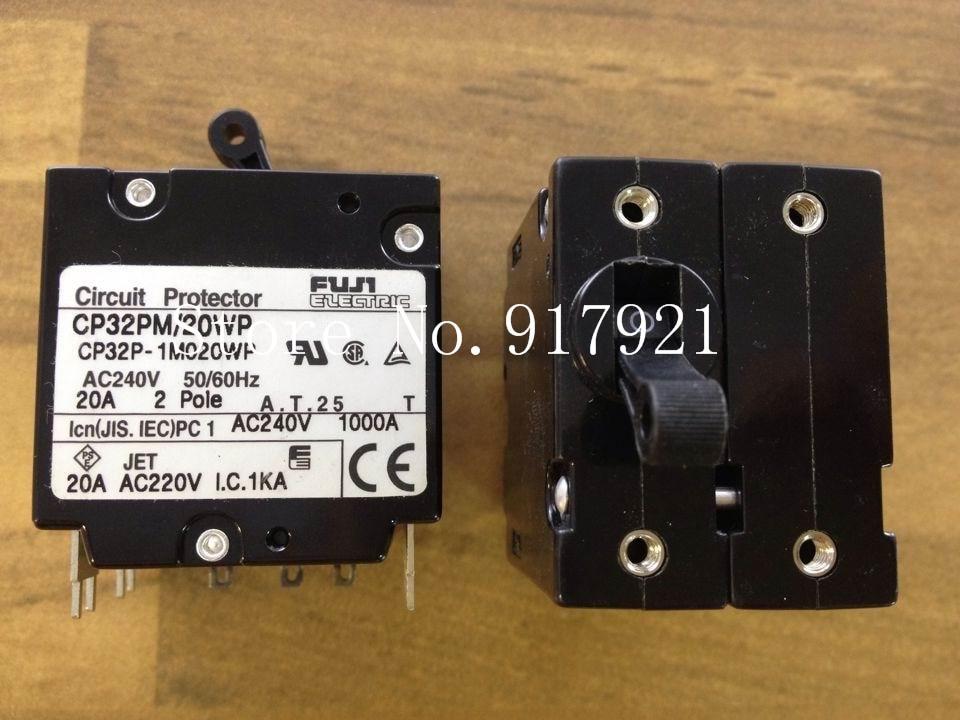 [ZOB] Fuji CP32P-1M020WP 2P20A 240V breaker CP32PM/20WP genuine original equipment  --5pcs/lot