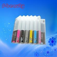 Высокое качество картридж без чернил совместимый для EPSON 4000 4400 4450 4800 4880 7600 9600 с чипом