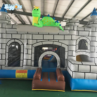 Commercial grade inflatable bouncers inflatable dinasaurs bounce house for sale