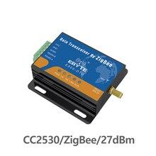 E800-DTU(Z2530-485-27) Zigbee CC2530 модуль RS485 2,4 ГГц 500 МВт cdebyte сеть Ad Hoc сеть 2,4 ГГц Zigbee радиочастотный трансивер