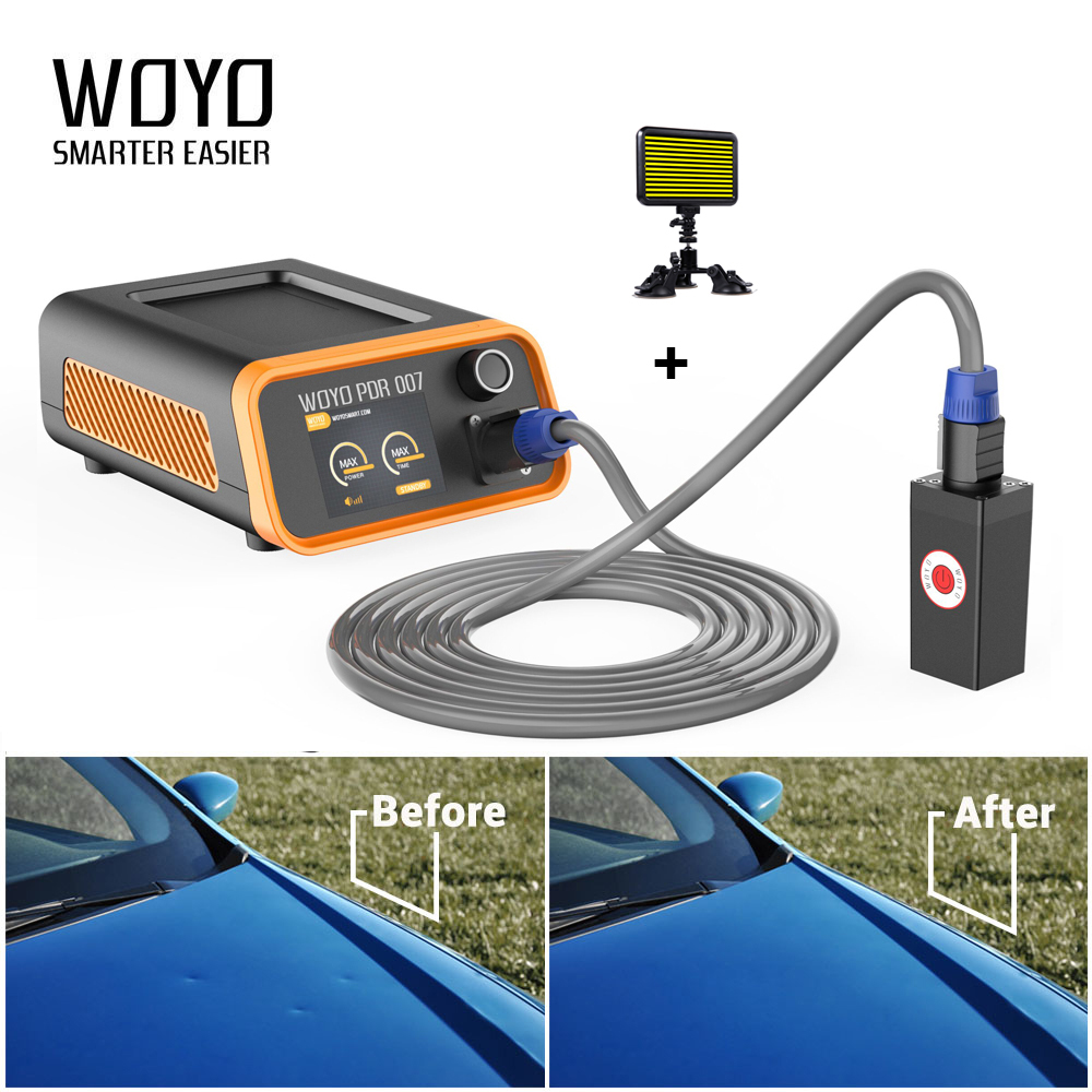 PDR Paintless Dent Removal Tool Hailstones Repair Auto Body Repair Tool Magnetic Induction Heater woyo pdr 007