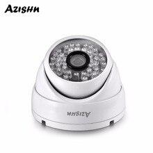 AZISHN Full HD 3MP SONY IMX323 sensor de POE de la cámara de seguridad de ONVIF H.265 IR visión nocturna impermeable al aire libre cámara de vigilancia