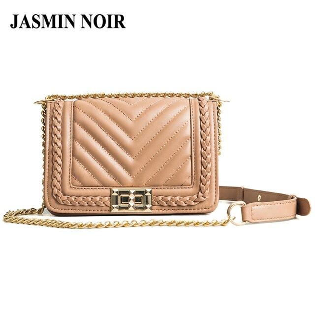 41fad6d8bc Fashion New V Pattern Flap PU Leather Women Handbag Female Brand Designer  Shoulder Crossbody Bag Lady Chain Small Messenger Bag