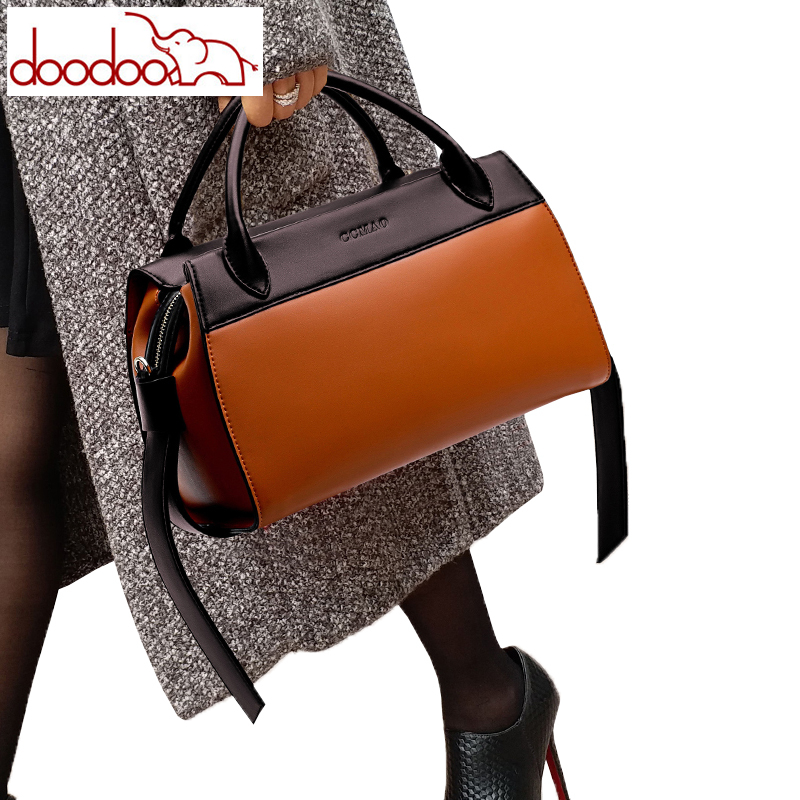 Womens Bag Vintage Casual Leather Shoulder Crossbody Bags Handbags Designer Boston Handbags High Quality Monederos Para Mujer-in Shoulder Bags from Luggage & Bags    1