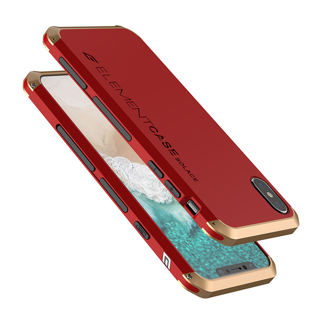 online store f5390 87a48 US $26.1 |For iPhone X Luxury Element Phone Bag Cases with Designer's  Aluminium and Hard Back PC Case For iPhone X phone bags-in Fitted Cases  from ...