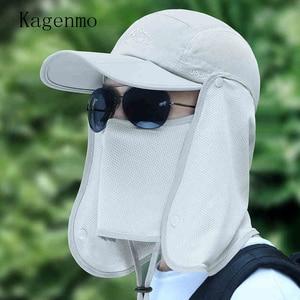 Кепка унисекс Kagenmo с защитой от солнца в джунглях, для спорта на открытом воздухе