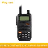 For the Motorola SMP618 walkie talkie high power 5W two way radio dual band dual display Portable Ham Radio Hf Transceive