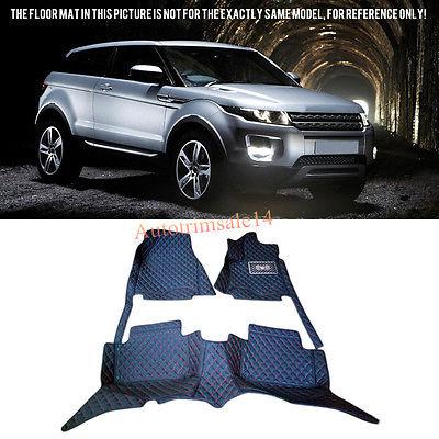 Interior Floor Mats & Carpets For Land Rover Range Rover Evoque (2-Door) 11-16 pitstop модель автомобиля range rover evoque цвет белый