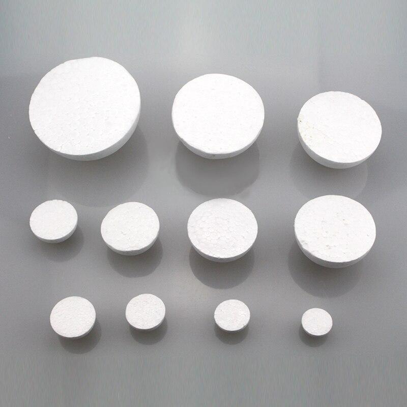 20cm In Diameter White Half Round Solid Polystyrene Styrofoam Foam Ball For Children/kids DIY Handmade Party Wedding Decoration