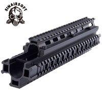 Deluxe Tactical FAL Vier Schiene Montage System MNT T981 Aluminium Jagd zubehör Kostenloser Versand-in Jagdwaffenzubehör aus Sport und Unterhaltung bei
