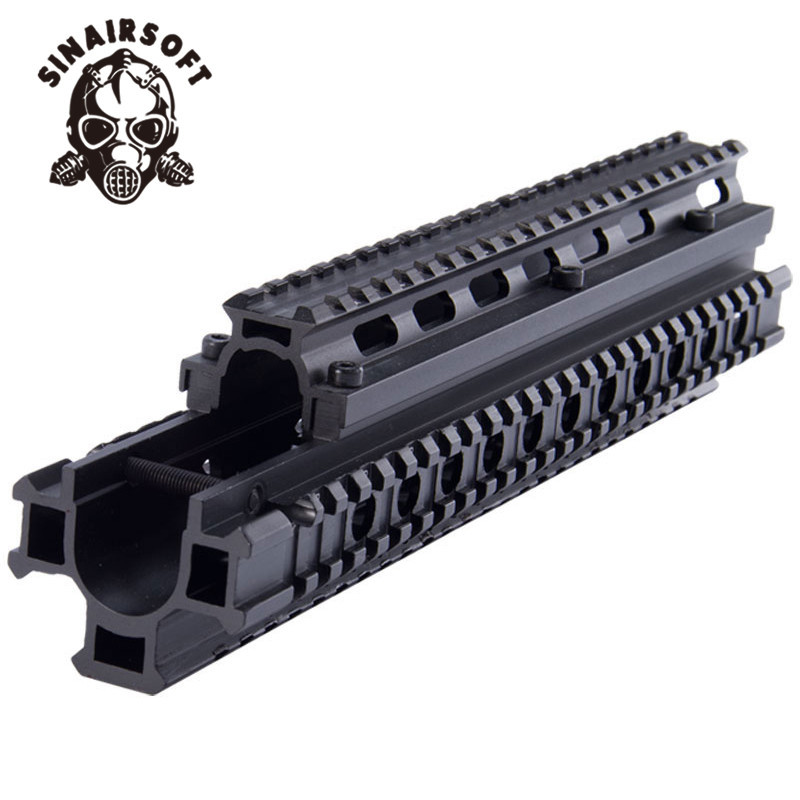 Deluxe Tactical FAL Four Rail Mounting System MNT T981 Aluminium Hunting accessories Free Shipping