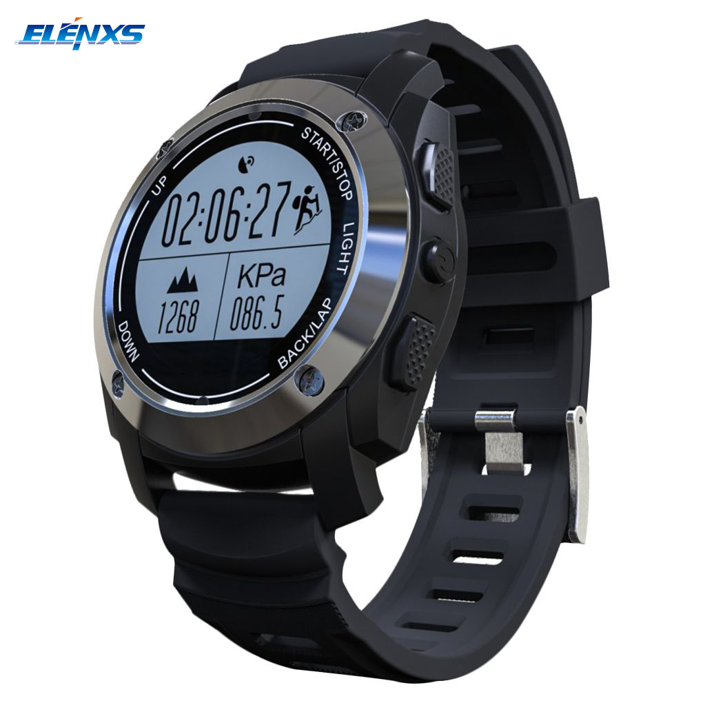 S928 Heart Rate Monitor GPS Fitness Tracker Sports Smart Watch IP66 Life Waterproof Wristwatch for Android 4.3 IOS 8.0 Above gps tracker watch heart rate smart bracelet watch heart rate monitor personal android and ios tracker multi mode locating