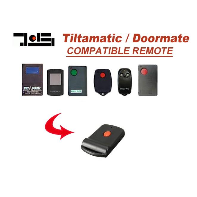 FOR Doormate remote control 303MHZ garage door remote pujol p215 4channel 4332mhz garage door remote control 100