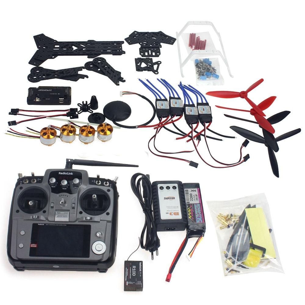 F11859 E Full Set RC Drone Quadrocopter Aircraft Kit 300H 300mm Frame 6M GPS APM 2