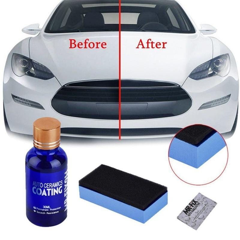Anti-scratch Car Polish Motocycle Paint Care Car Liquid Ceramic Coat Super Hydrophobic Glass Coating Automotive A