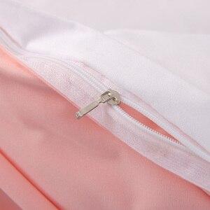 Image 5 - Juego de fundas de cama de Color blanco, ropa de cama de tamaño completo con estampado de puntos negros para niñas, dormitorio, cama de matrimonio, funda nórdica, juego de sábanas