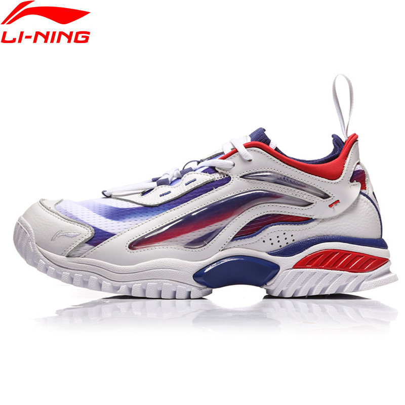 Li-ning PFW hommes AURORA SKYWALKER style de vie chaussures doublure baskets portables Fitness Sport chaussures AGLN235 YXB200