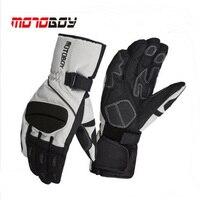 2017 Winter Warm Cross Country Motoboy Motorcycle Gloves Windproof Waterproof Motorbike Glove Non Slip Wrestling Reflective