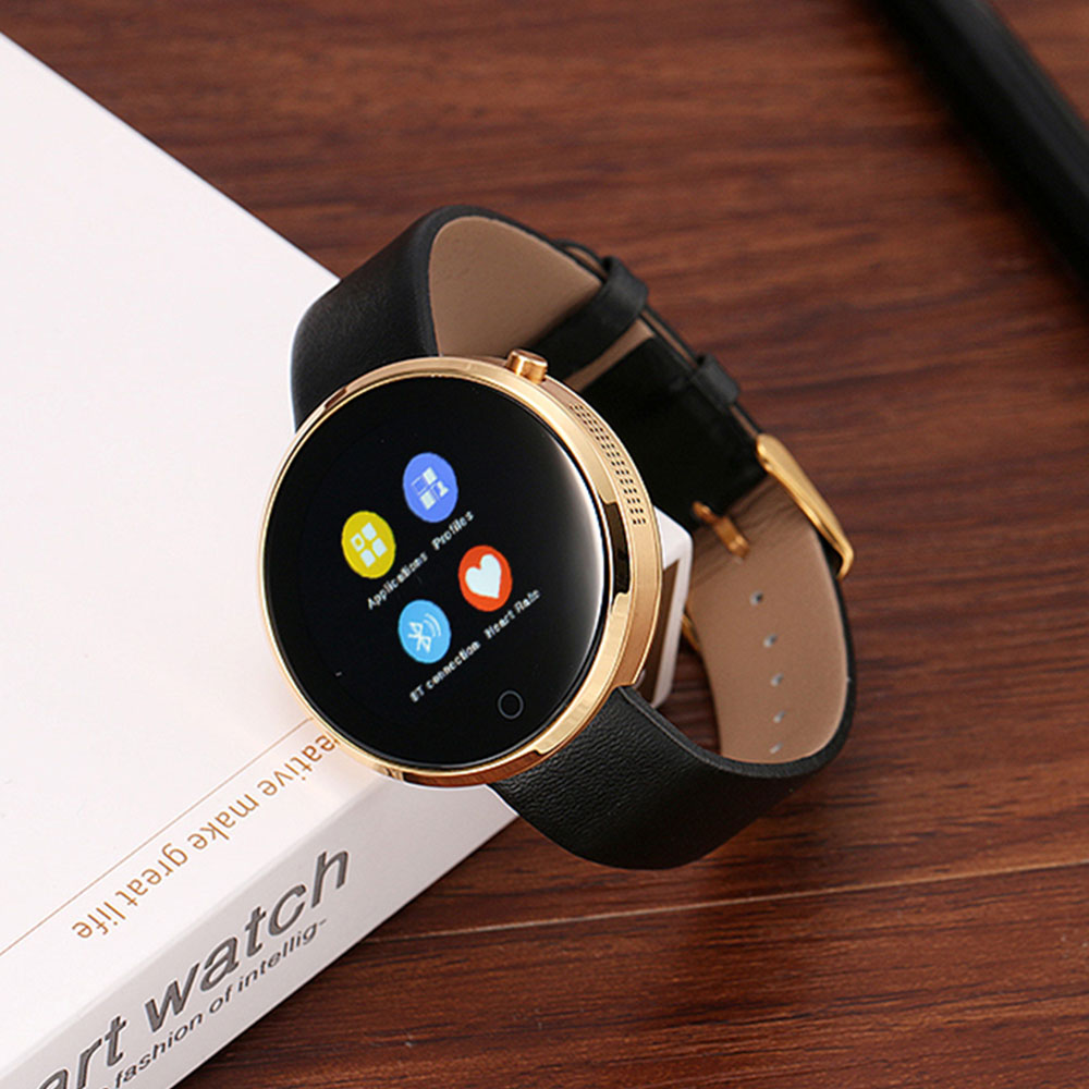 DM360 Bluetooth 4.0 Smartwatch Smart watch for Iphone IOS Andriod Mobile Phone with Voice Control Heart Rate Monitor Wristwatch brand new dm360 heart rate monitor bluetooth smart watch dm 360 round waterproof 3d axis for ios iphone 6 android moto phone