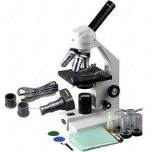 Cheaper Student Compound Microscope–AmScope Supplies 40X-2000X Student Compound Microscope + 1.3MP USB Digital Camera