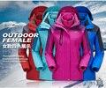 2016 venda quente de outono casaco casaco de inverno das mulheres à prova d' água À Prova D' Água senhoras Chateado para manter casaco quente