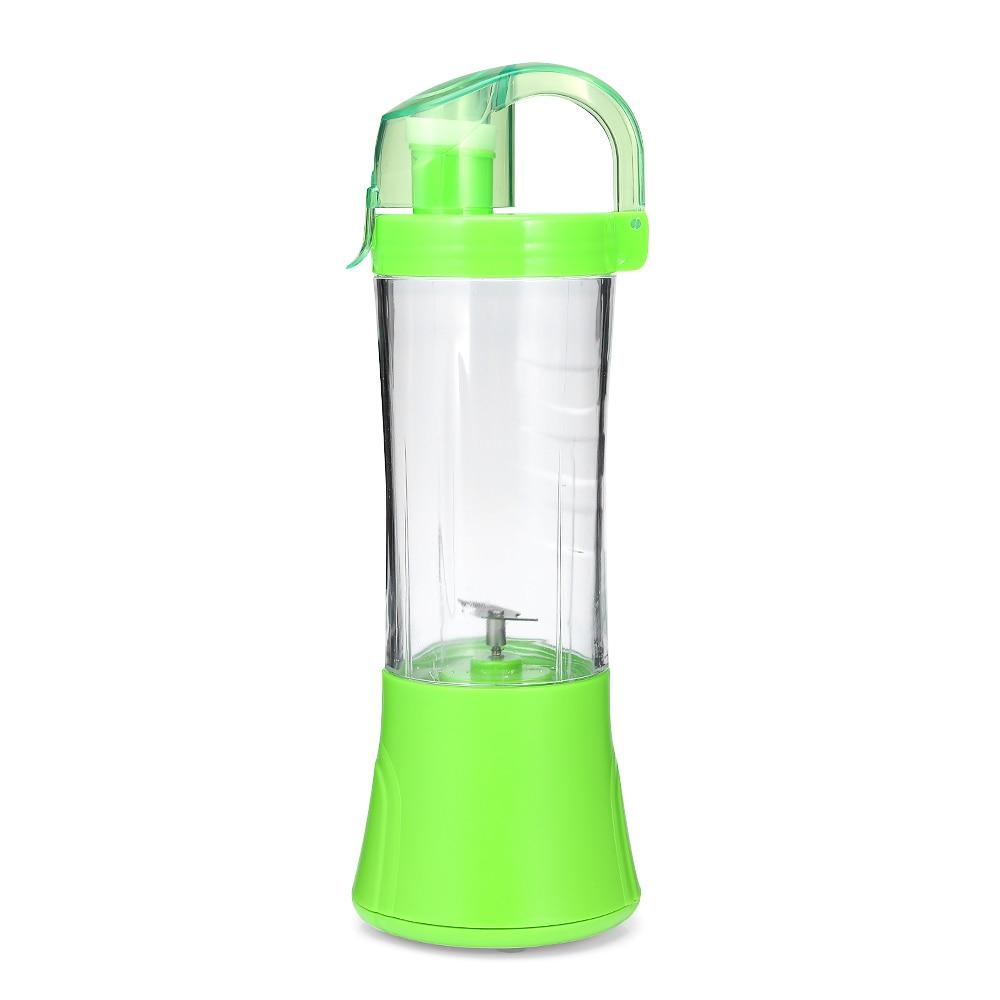 380ml Portable Blender Juicer Cup USB Rechargeable Electric Automatic Vegetable Fruit Citrus Orange Juice Maker Cup Mixer Bottle