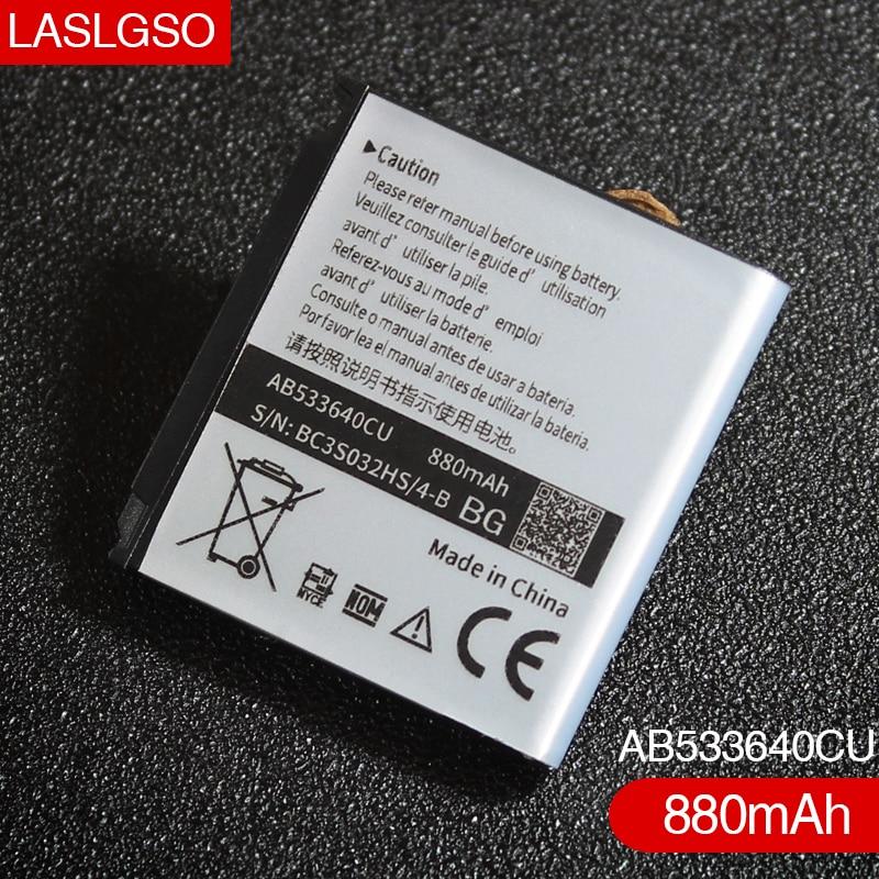 2pcs/lot real 880mah ab533640cu gt c3110 sgh f330 f330 sgh g400.