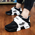 Men shoes Sport Casual PU Air cushion Shoe Outdoor Basket mesh surface Shoes Men zapatillas deportivas hombre  trainers
