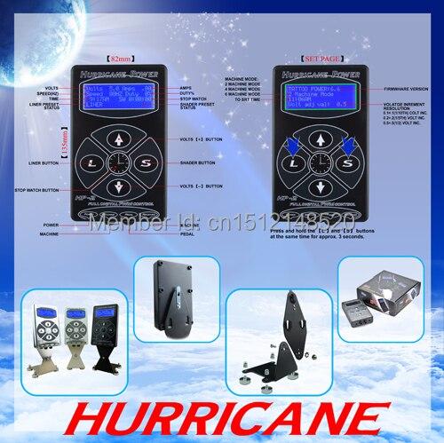 2017 Hot Selling Black HP2 Hurricane Tattoo Power Digital Dual LCD Display Tattoo Power Supply Free Shipping стойка для акустики waterfall подставка под акустику shelf stands hurricane black